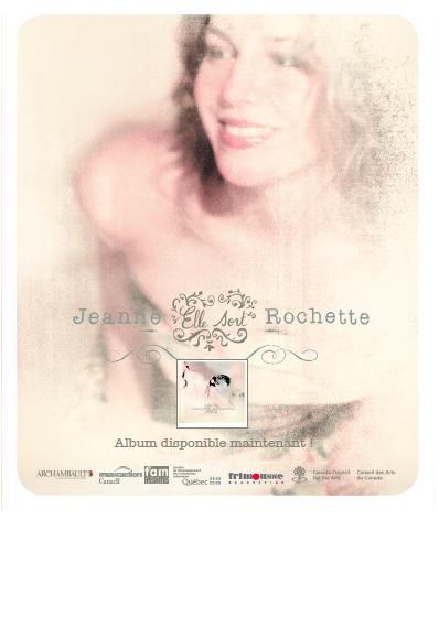 Jeanne Rochette afficeh ElleSort